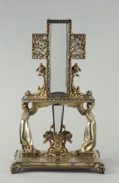 reliquaire du clou et du bois de la croix