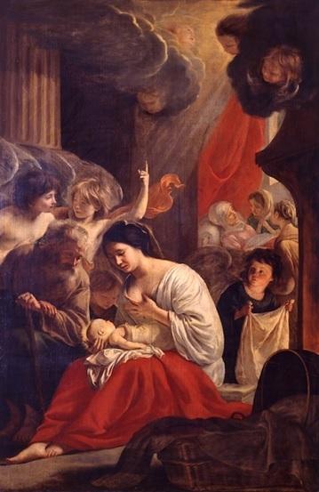 tableau : La Nativité de la Vierge