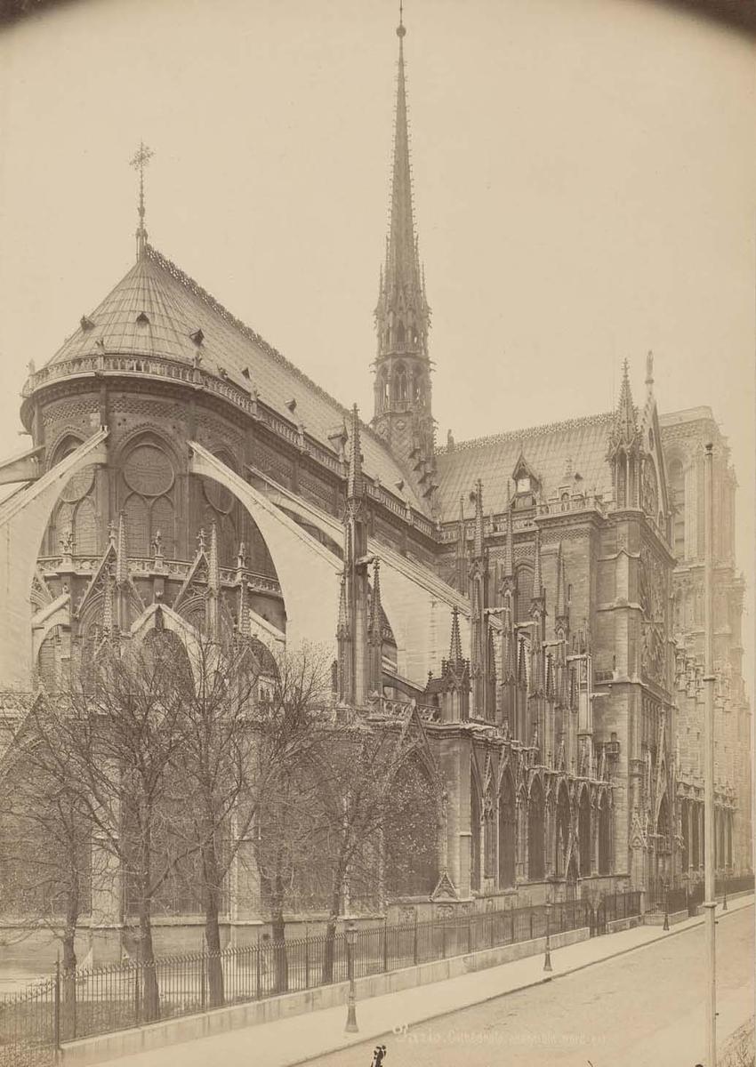 Photographie de la cathédrale Notre-Dame de Paris - Mieusement